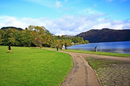 Loch Lomond in October, Scotland, UK Stock Photo - 16176602