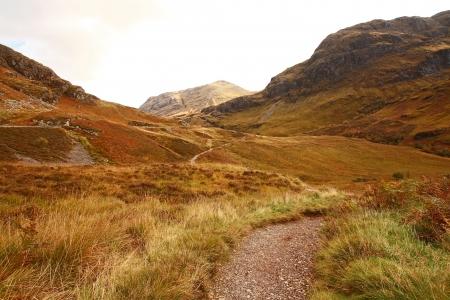 Glencoe in October, Scottish highlands, Scotland, UK photo