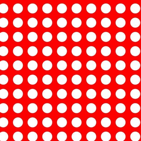 free photos: White polka dots on red seamless
