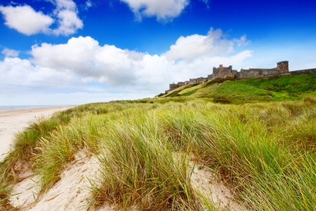 Bamburgh Castle, Northumberland, England UK