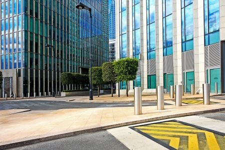 Modern exterior of business centre close up Stock Photo - 18206786