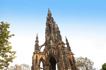 sir walter scott:  The Scott Monument is a Victorian Gothic monument to Scottish author Sir Walter Scott