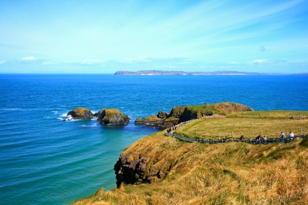 Carrick -A-Rede and Larrybane, Ireland   photo