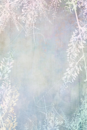 Dreamy floral grungy background  photo