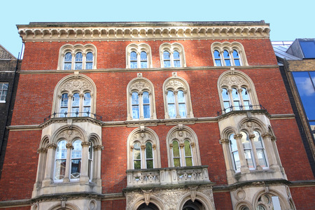 Old british architecture, Front