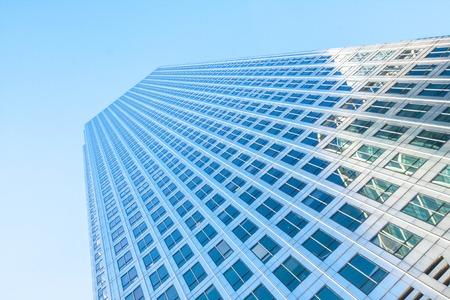 Modern, glass architecture in London, United Kingdom Stock Photo