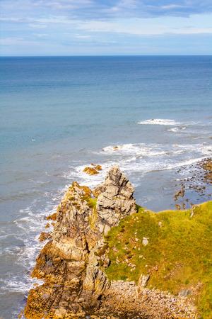 coastline: Scottish coastline Stock Photo
