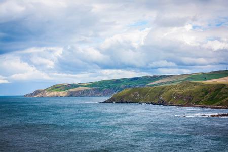Scottish coastline photo