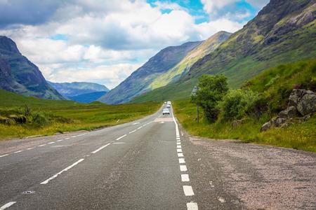 glencoe: Road to Glencoe, Scotland, United Kingdom