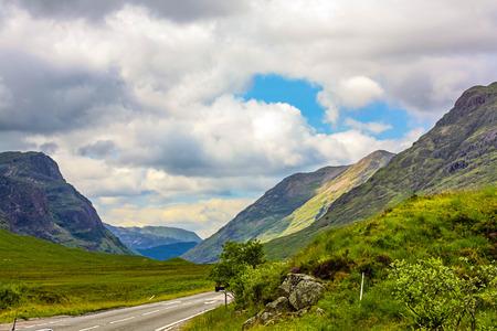 glencoe: Glencoe, Scotland, United Kingdom Stock Photo