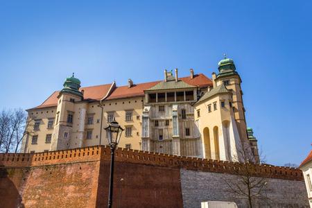 wawel: Wawel Castle at Wawel Hill in Krakow, Poland, Europe