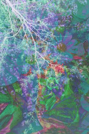 fondo artistico: Fondo art?stico abstracto Foto de archivo