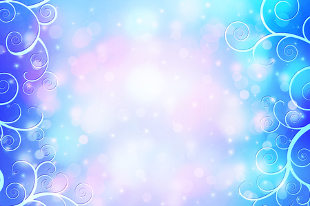 glimmering: Beautiful dreamy background with bokeh lights