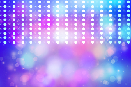 glimmering: Artistic bokeh lights background with graphic elements