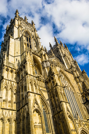 york minster: York Minster, York, England, United Kingdom, 2015 Stock Photo