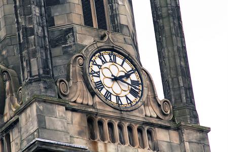 Alte Uhr, Edinburgh, Schottland