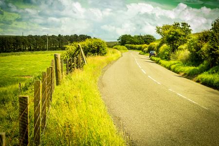 Scottish summer landscape, Stock Photo