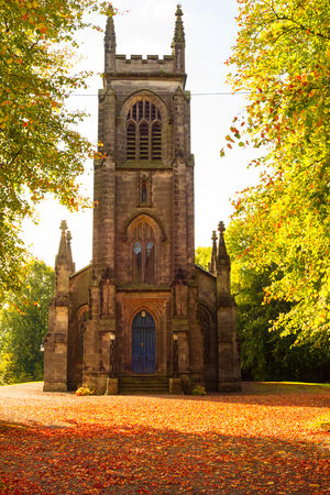 old church: Old Scottish church, Stirlingshire, Scotland, UK