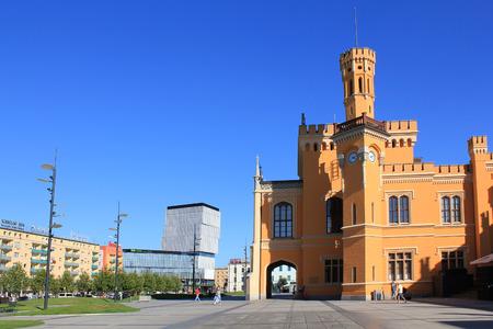 Main Railway Station, WROCLAW, POLAND - 12.09.2016, Europe.