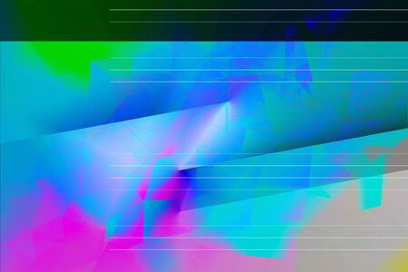 Dreamy, abstract,  multicolor, geometric background