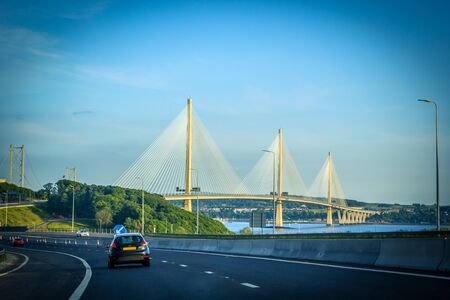 New Queensferry crossing bridge.
