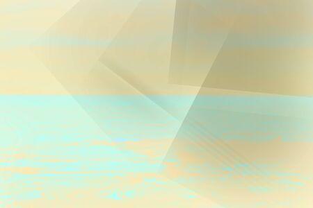 Minimal, colorful, pastel abstract, geometric background Foto de archivo