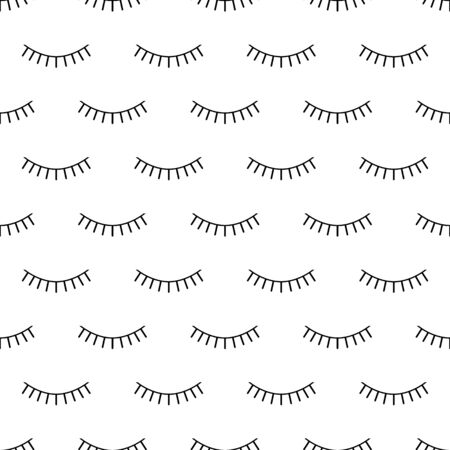 Abstract seamless eyes pattern for girls, boys. Creative vector pattern with psychodelic eyes. Funny eyes pattern for textile and fabric. Fashion sport style. Background for kids closed eyes
