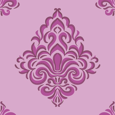 seamless pattern - patterns on a pink background Vector