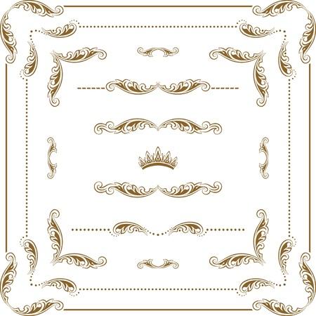 decorative frame Stock Vector - 12488178