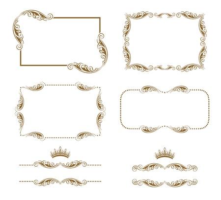 refine: decorative frame