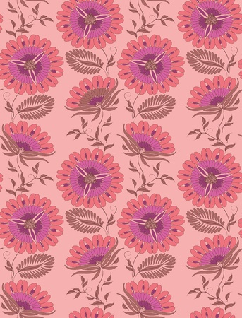 Seamless floral pattern   Stock Vector - 12776626