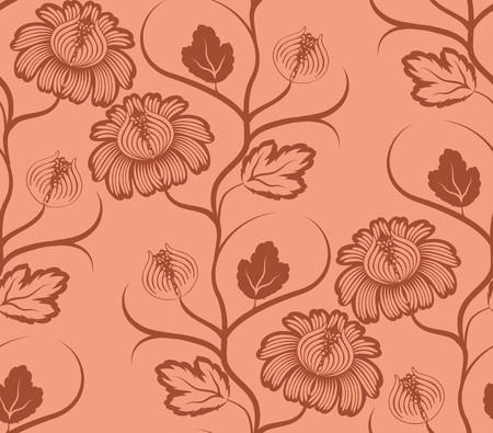 seamless floral pattern Stock Vector - 12776645