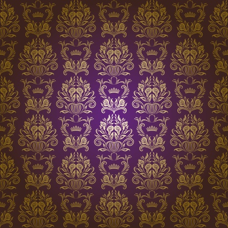 damask seamless floral pattern Stock Vector - 13196253