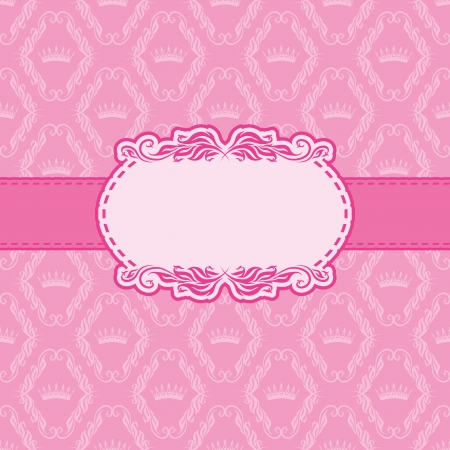 Template frame design for greeting card   Çizim