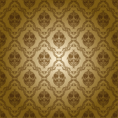 damask seamless floral pattern Stock Vector - 13563916