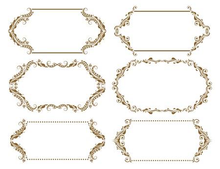 Set of ornate Stock Vector - 13614626