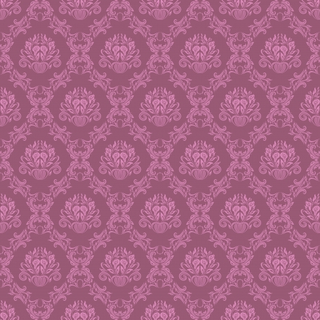 damask seamless floral pattern 일러스트