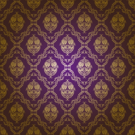 damask seamless floral pattern Stock Vector - 13614788
