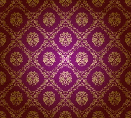 damask seamless floral pattern Stock Vector - 13778108