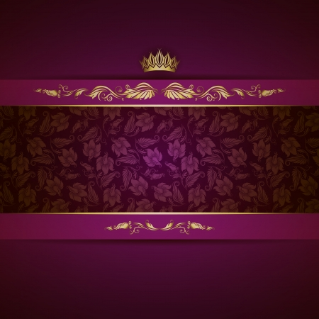 corona real: Real de fondo