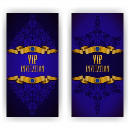 Elegant template luxury invitation, card with lace ornament, place for text  Floral elements, ornate background   Stock Vector - 24020706
