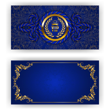 Elegant template for luxury invitation