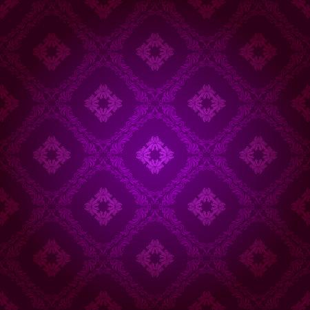 brocade: Damask seamless floral pattern. Royal wallpaper. Flowers on a dark background.