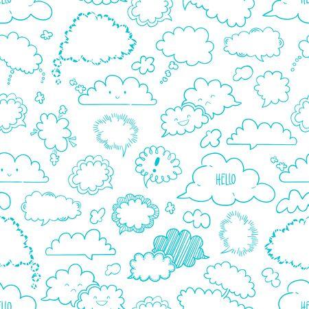 Bubble Seamless Pattern