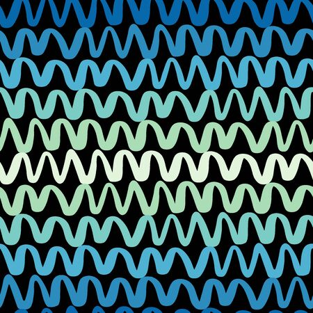 Colorful Wavy Lines Pattern-10