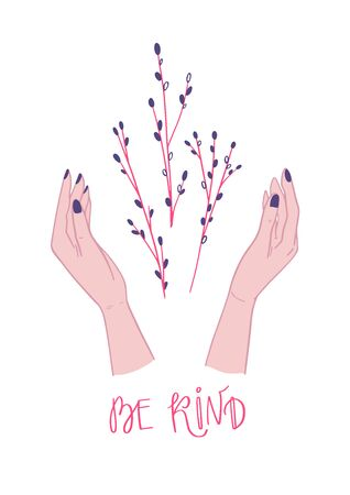 Hands and Be Kind Poster-01