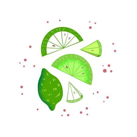 Hand Drawn Juicy Lemon Illustration-03