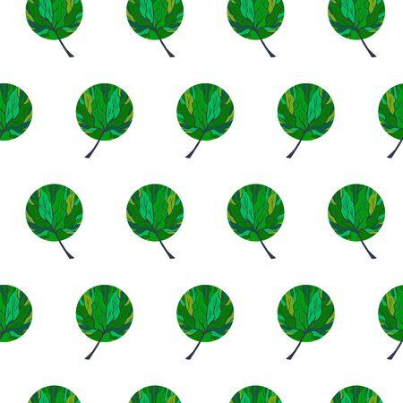Tree Hand Drawn Patterns Uneven-11