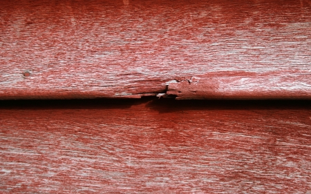 broken red wood photo