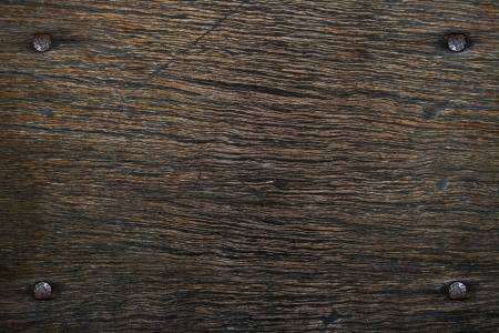 pale wood: nails in wood